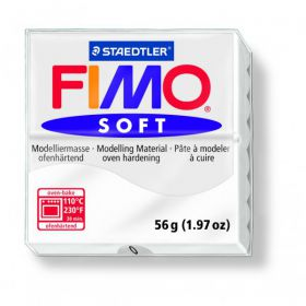 PATE FIMO SOFT BLANC 0