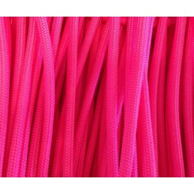 CORDON ROSE FLUO 4MM