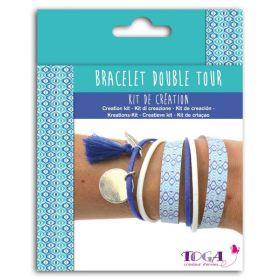 Kit bracelet double tour
