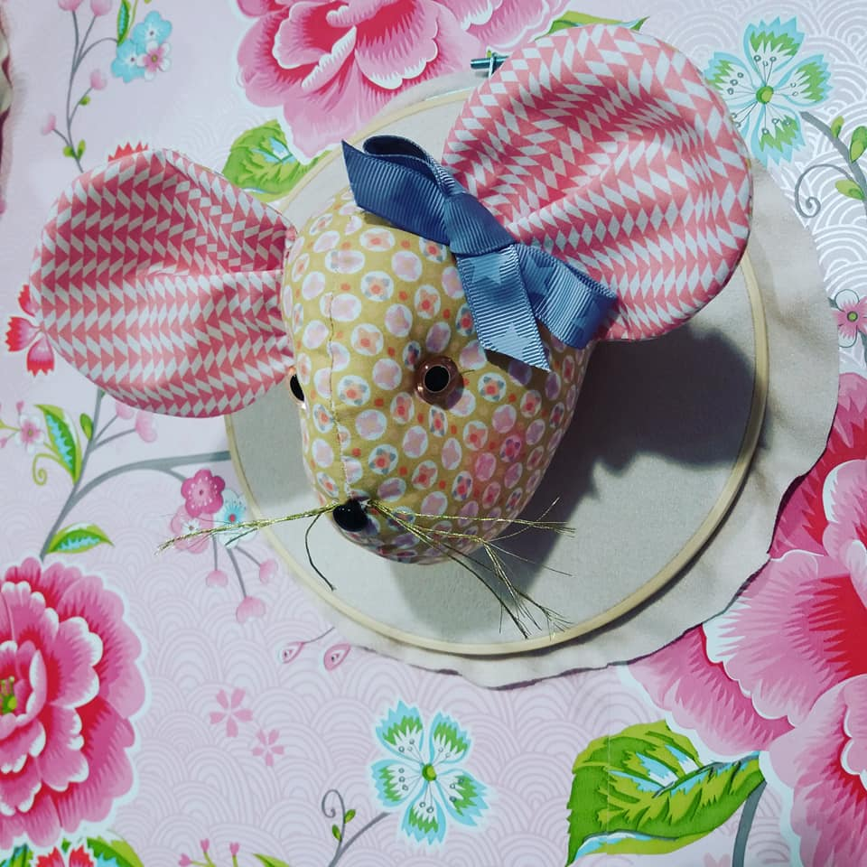 trophée couture souris