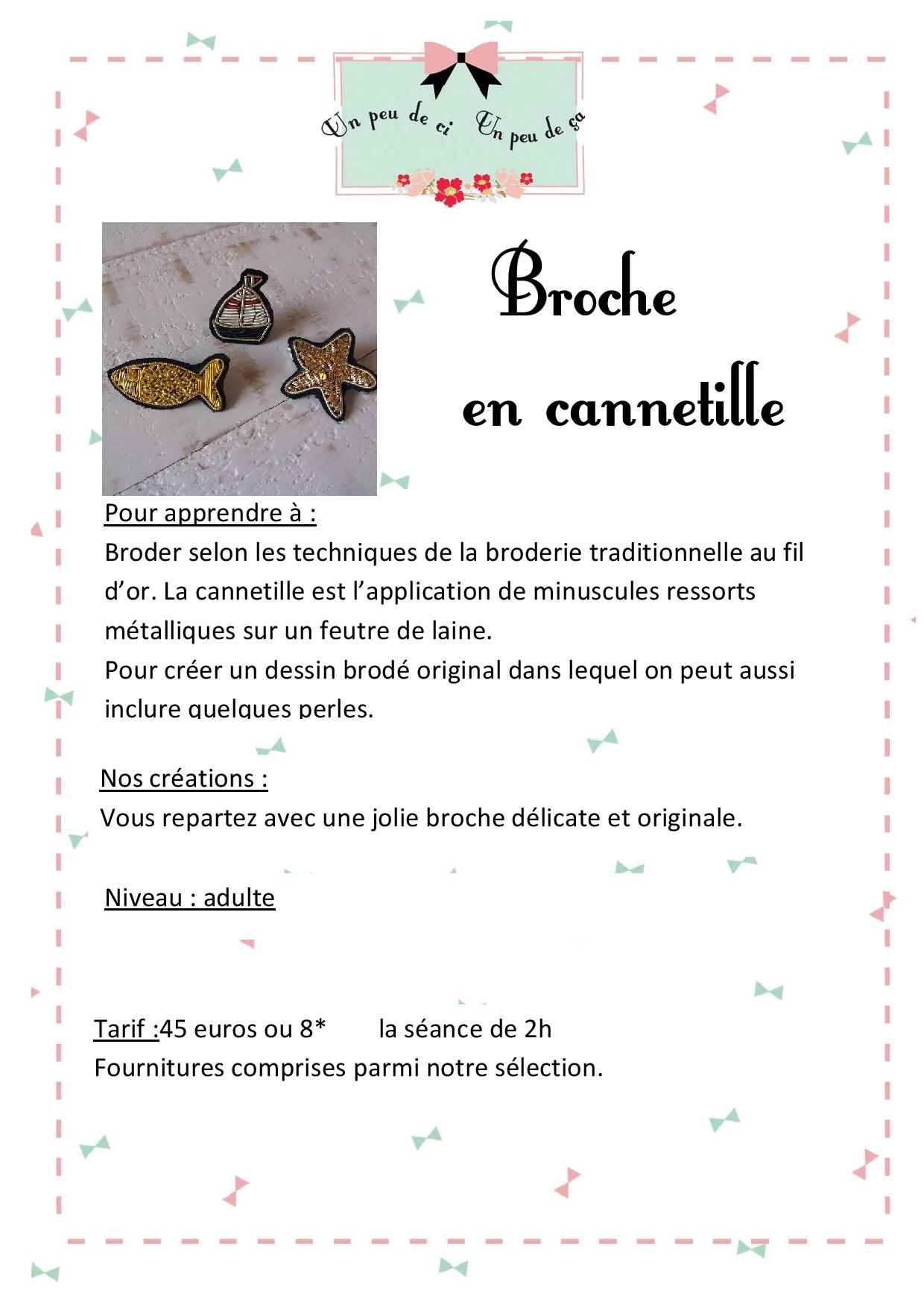 ateliers broderie cannetille granville