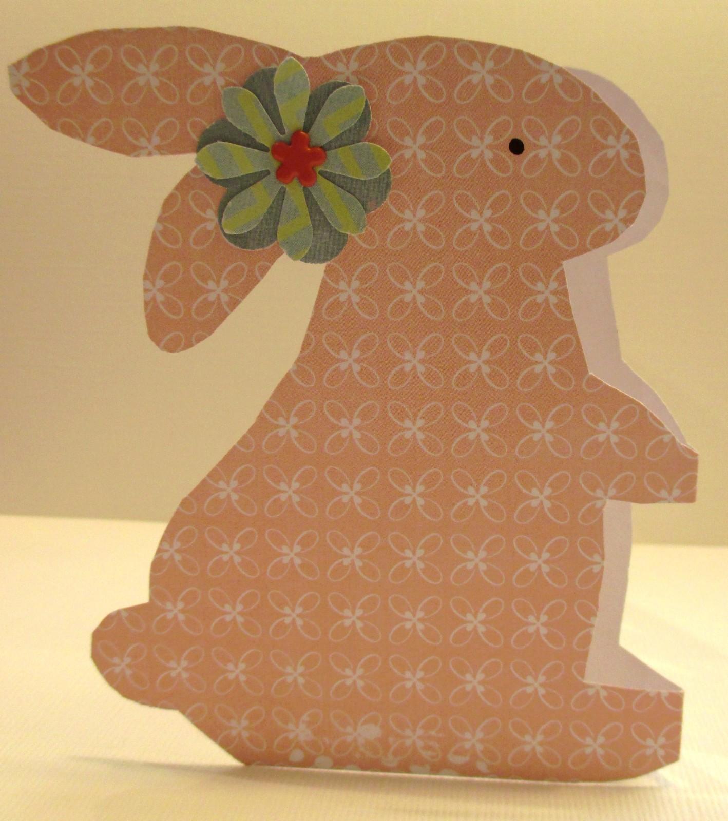 Tutoriel gratuit le lapin de p ques - Lapin de paques a imprimer gratuit ...