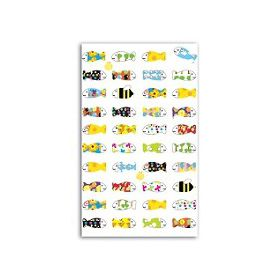 FUNNY STICKERS POISSONS 1