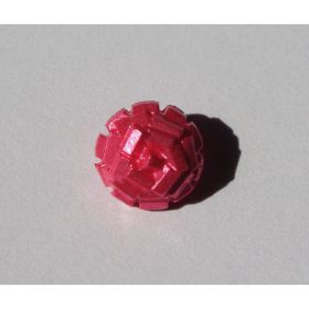 BOUTON STYLE PAILLETTES ROSE