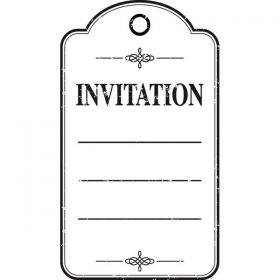 TAMPON INVITATION