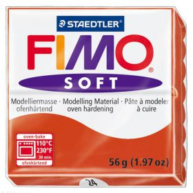 PATE FIMO  ROUGE INDIEN 24