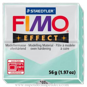PATE FIMO EFFECT VERT MENTHE 505