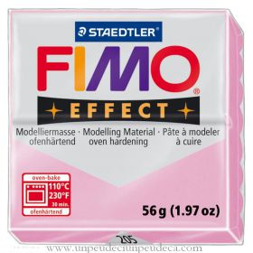 PATE FIMO EFFECT ROSE LIGHT PINK 205
