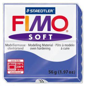 PATE FIMO BLEU BRILLANT 33