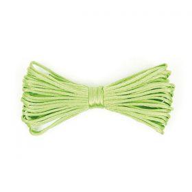 Cordelette Polyester Vert Clair 2mm