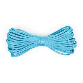 Cordelette Polyester Bleu Clair 2mm