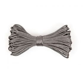 Cordelette Polyester Gris 2mm