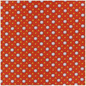 COUPON ENDUIT 50*75 CM  Coton Lichen rouille