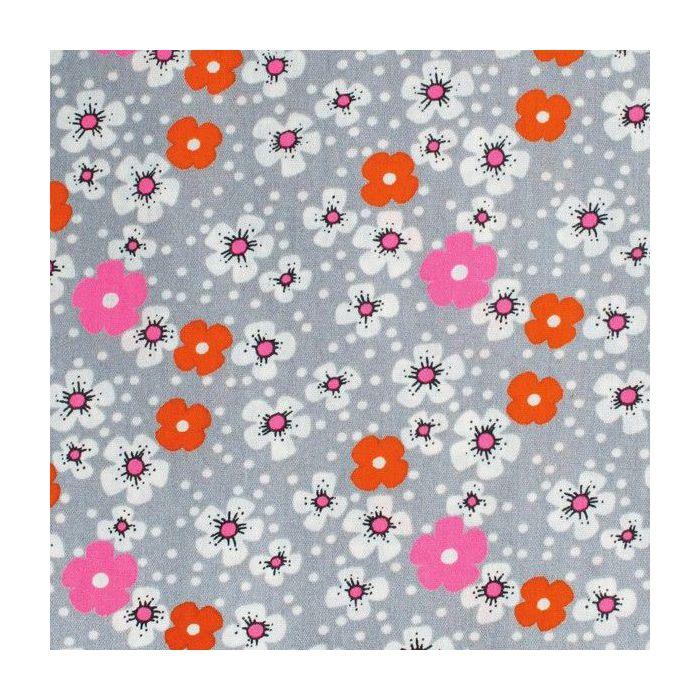 Tissu Enduit Fleurs des Iles  PETIT PAN