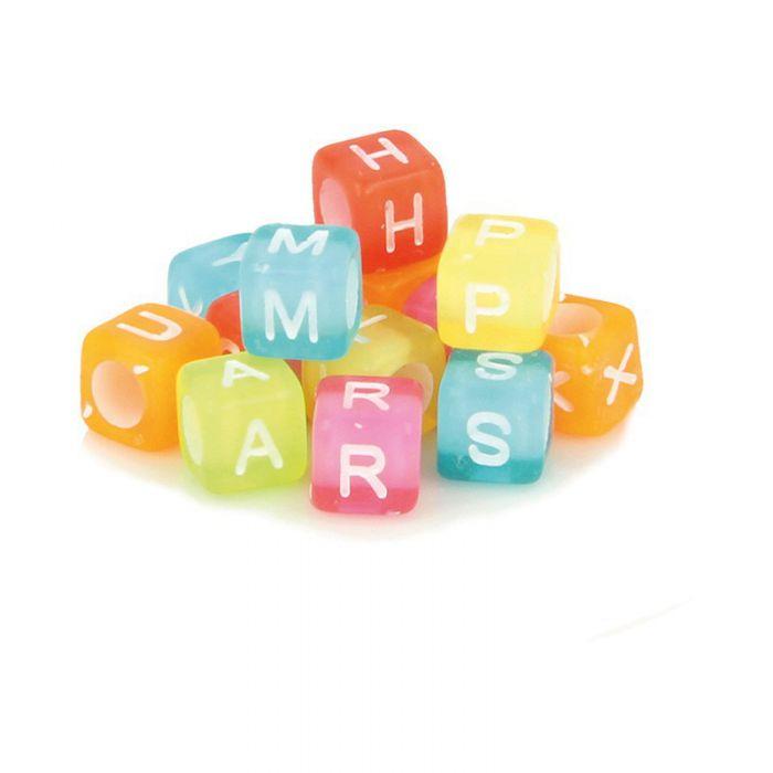 300 perles alphabet acidulées