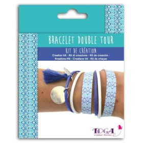 Kit bracelet double tour