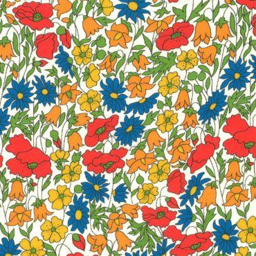 Tissu liberty poppy daisy