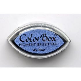 "Encreur color box oeil de chat ""sky blue"""
