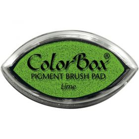 "Encreur color box oeil de chat ""lime"""