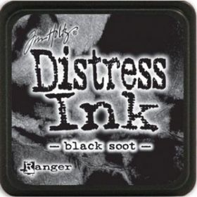 "Encreur Distress Ink ""black soot"""