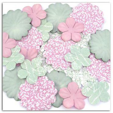 Fleurs décoratives Shabby love