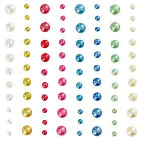 Assortiment de perles pastel