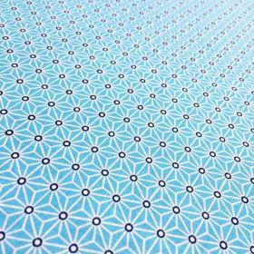 Cretonne Saki turquoise