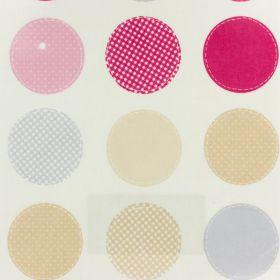 Coton enduit fryett's metro pink