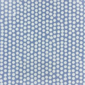 Coton enduit fryett's china blue 13