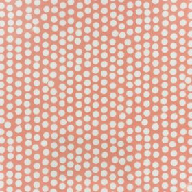 Coton enduit fryett's spotty orange