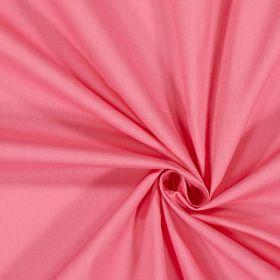 Popeline rose +elastane