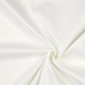 Tissu coton écru