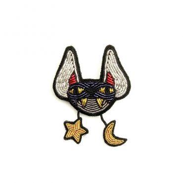 Broche chauve souris Macon Lesquoy