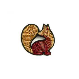 Broche renard Macon Lesquoy