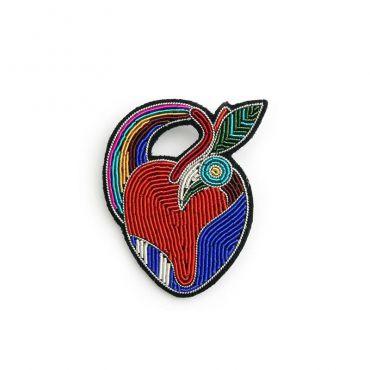 Broche coeur osmose Macon Lesquoy