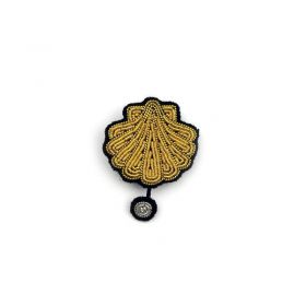 Broche coquille saint jacques Macon Lesquoy