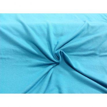 Jersey viscose turquoise
