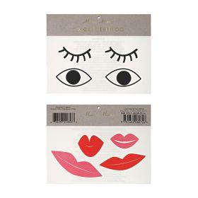 Tatouages yeux et bouches