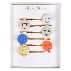 6 barrettes emoji