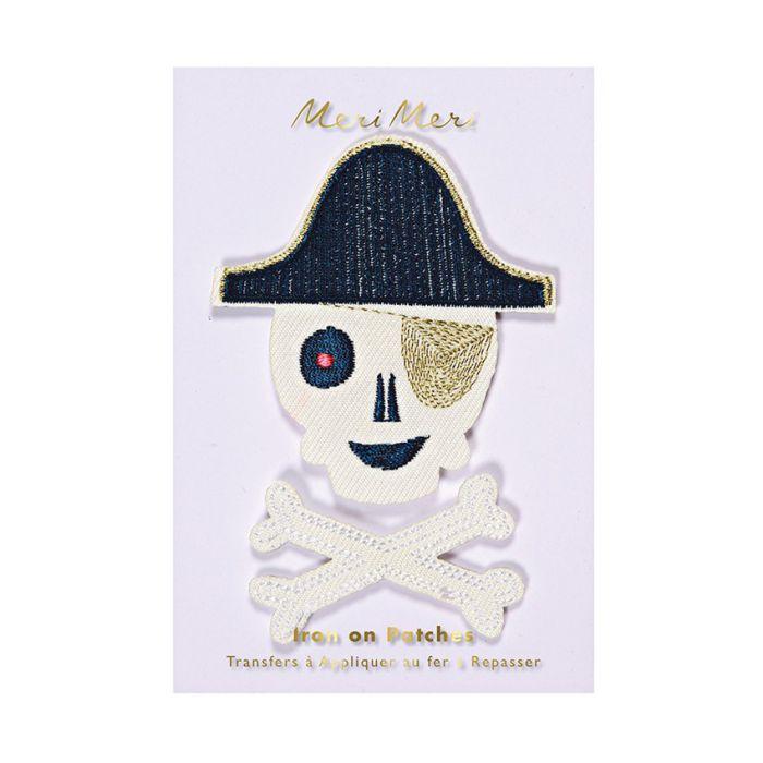 Ecussons thermocollants pirates