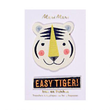 Ecussons thermocollants tigres