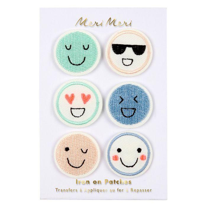 Ecussons thermocollants emoji