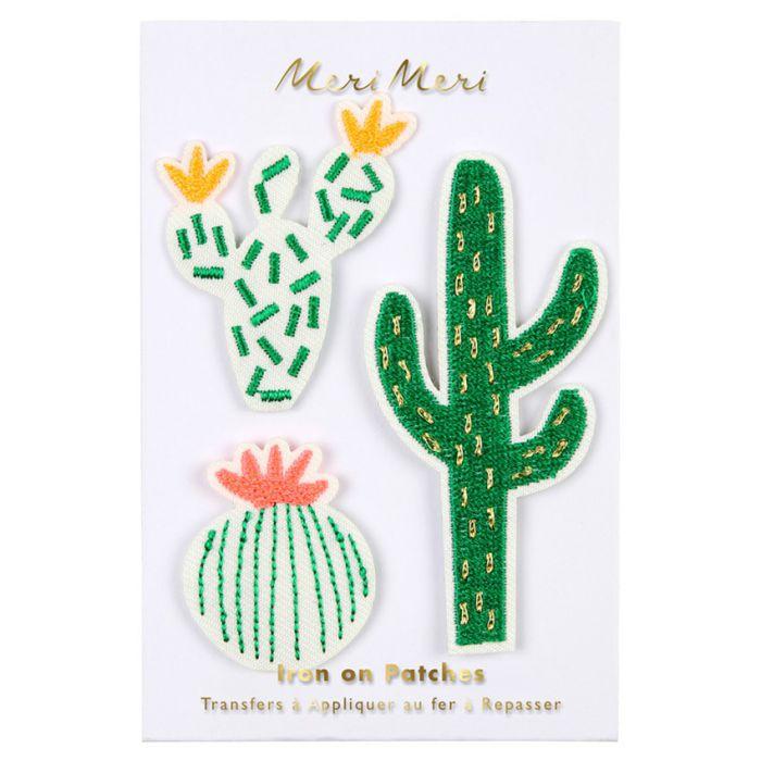 Ecussons thermocollants cactus