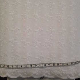 Broderie anglaise feston