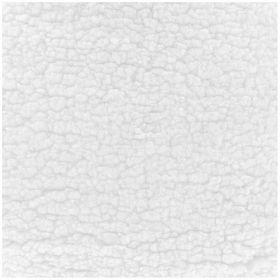 Tissu sherpa uni blanc