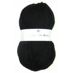 Laine soft wool aran noire