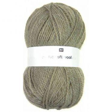 Laine soft wool aran beige foncé
