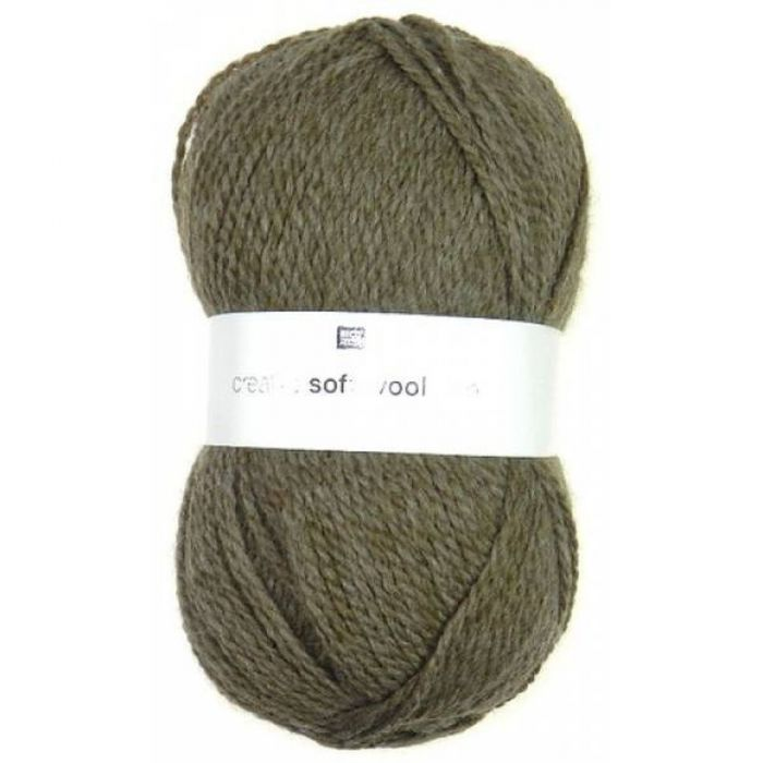 Laine soft wool aran marron