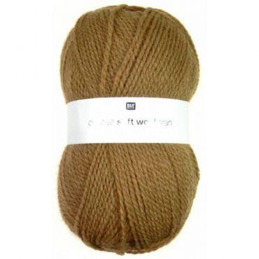 Laine soft wool aran caramel