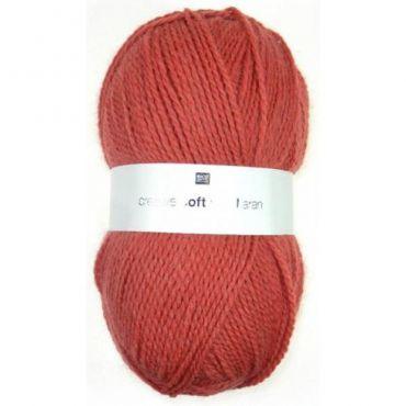 Laine soft wool aran cerise